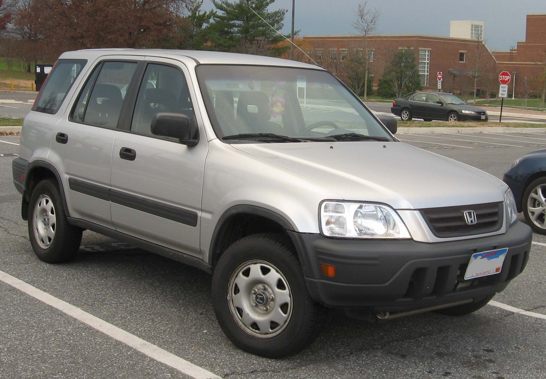 1996 Honda Cr-v i (rd1-rd2) - pictures, information and ...