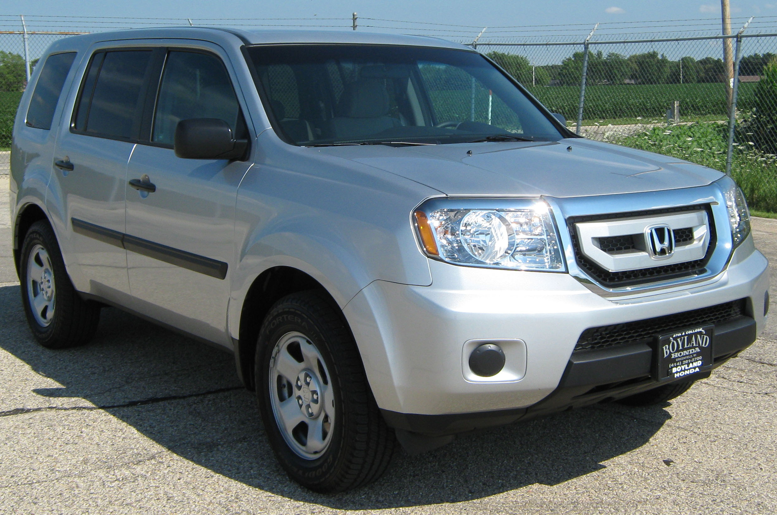 2011 Honda Pilot Ii Pictures Information And Specs