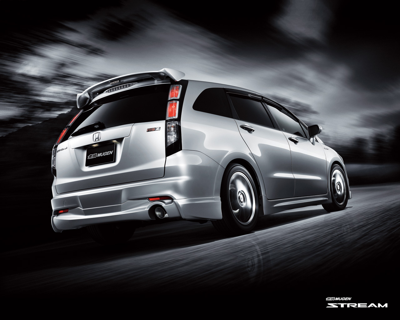 honda stream wallpaper