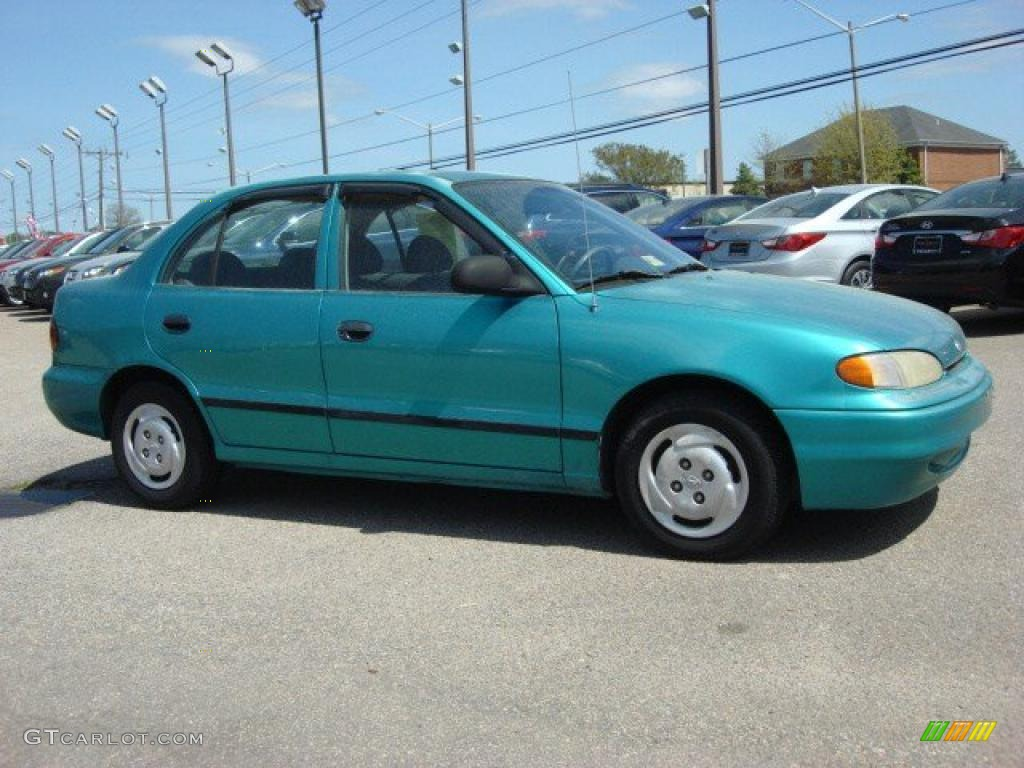 1996 Hyundai Accent I Sedan Pictures Information And
