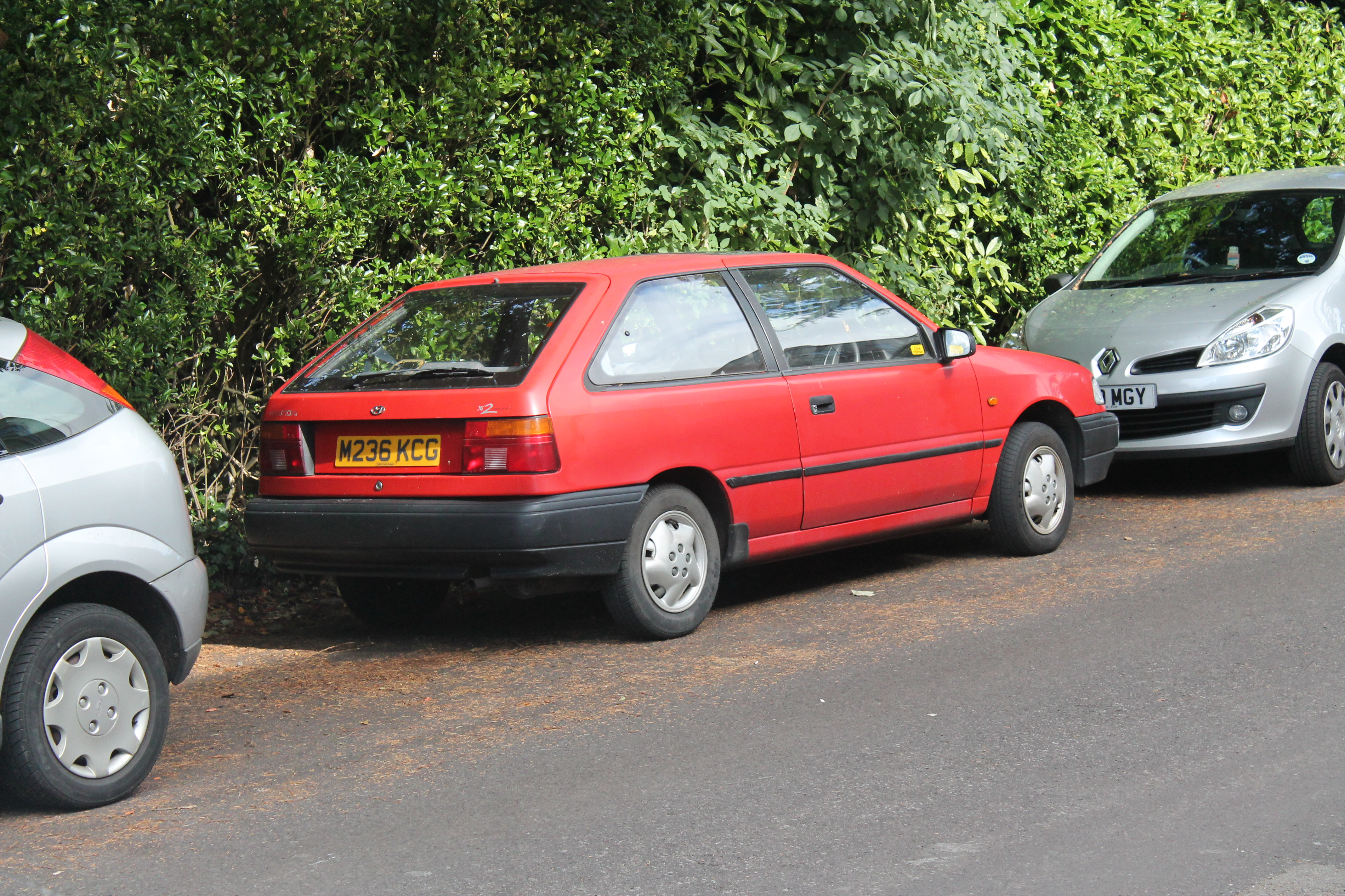 1994 Hyundai Pony (x-2) – pictures, information and specs ...