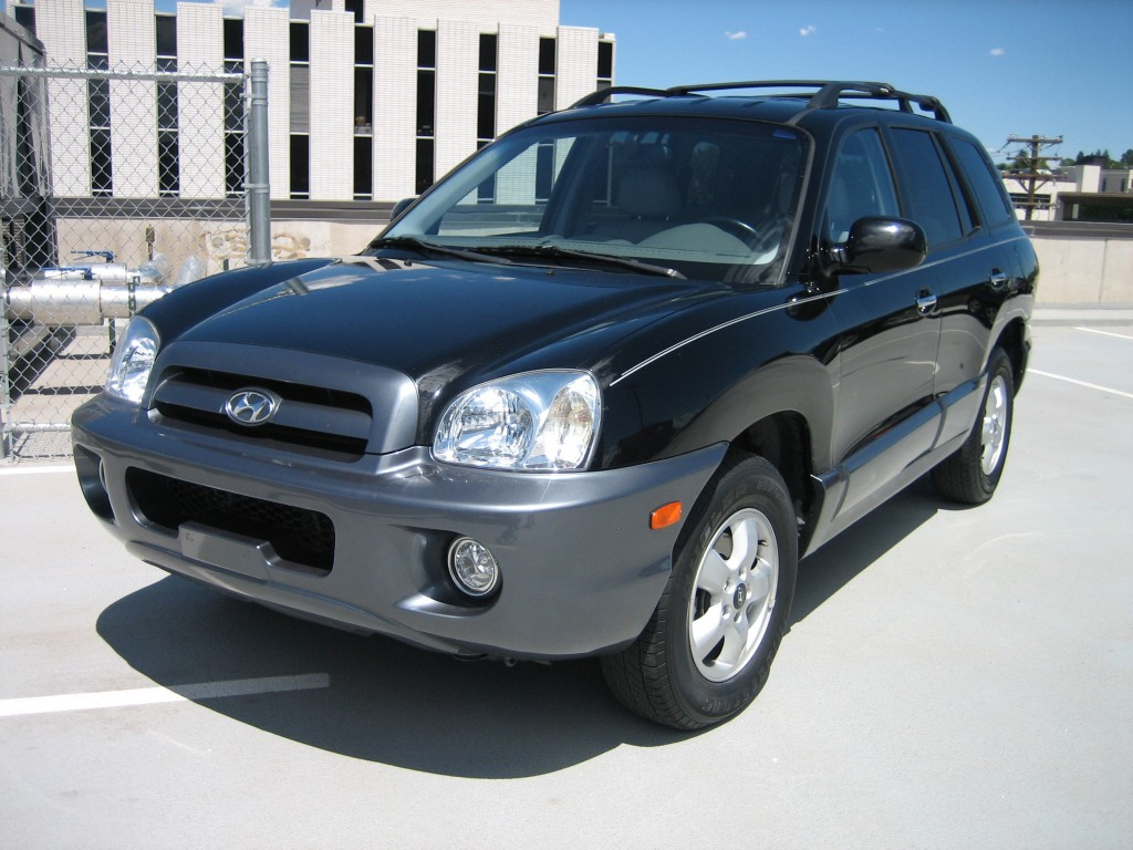 2002 Hyundai Santa Fe Pictures Information And Specs