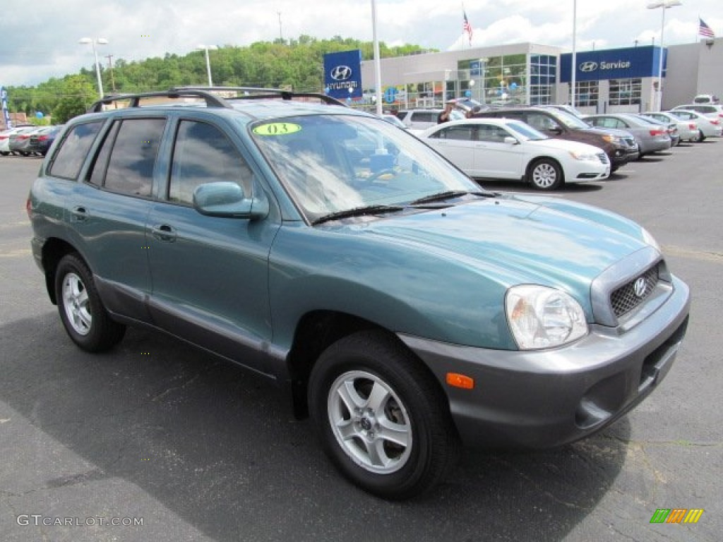 2003 hyundai santa fe pictures information and specs auto. Black Bedroom Furniture Sets. Home Design Ideas