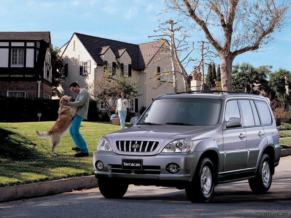hyundai terracan 2001 models