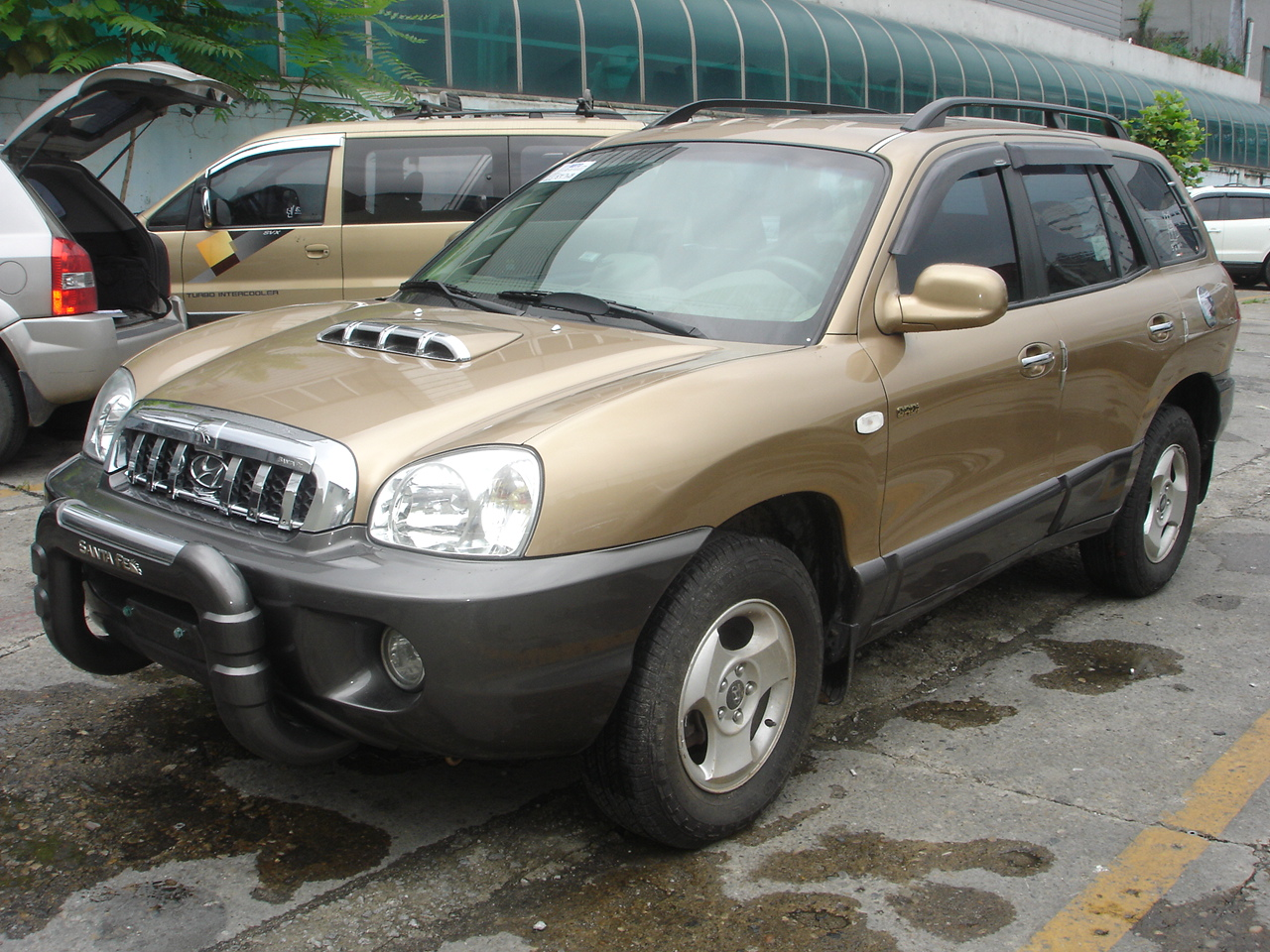 2002 hyundai terracan pictures information and specs auto. Black Bedroom Furniture Sets. Home Design Ideas