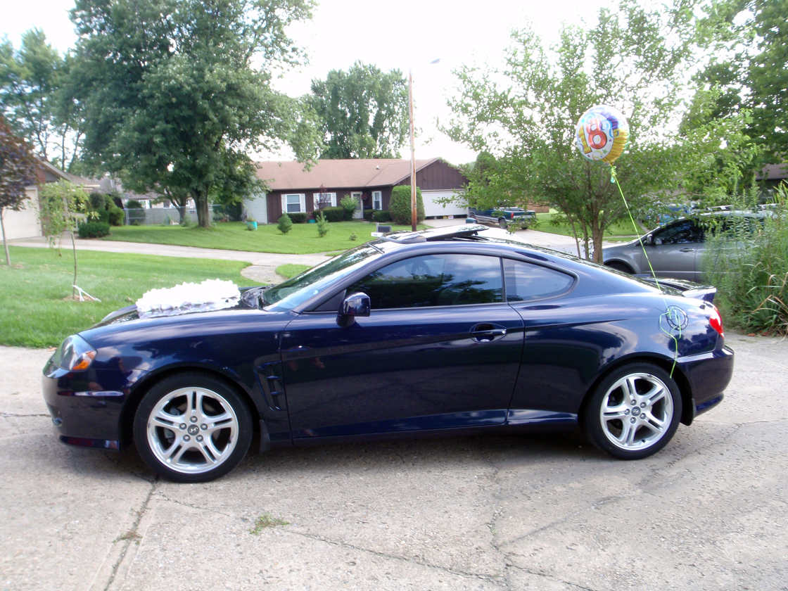 2006 Hyundai Tiburon – pictures, information and specs - Auto ...