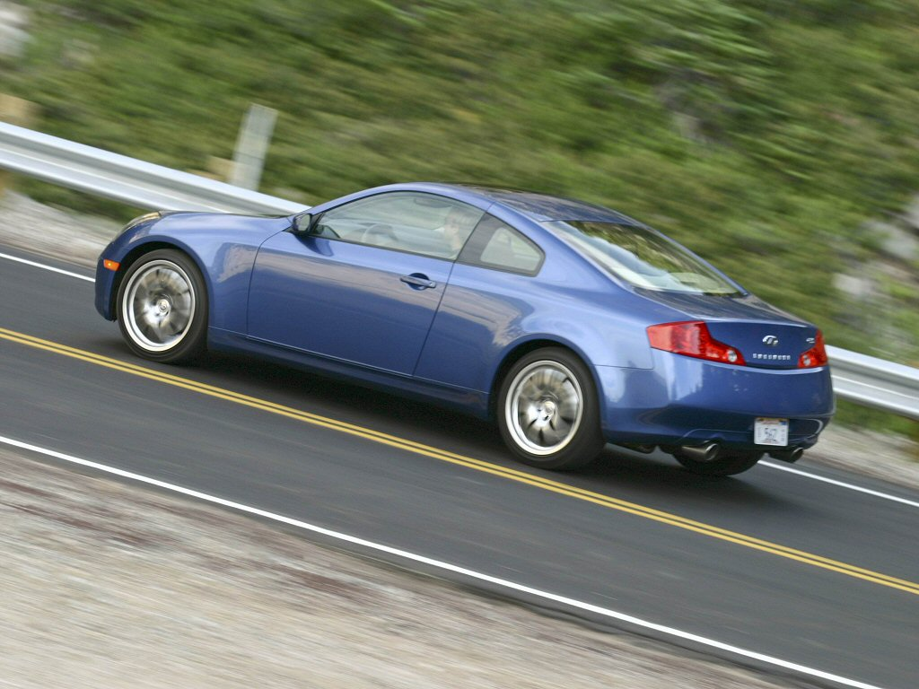 infiniti g sport coupe 2005 pictures #8