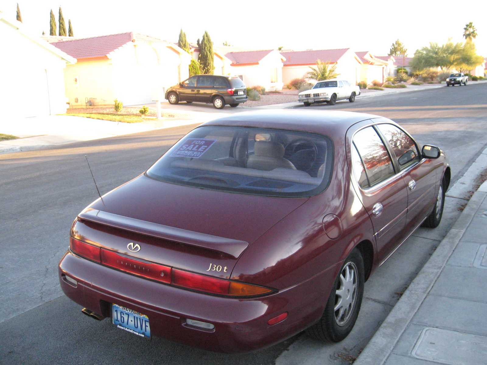 1993 Infiniti J30   pictures, information and specs - Auto