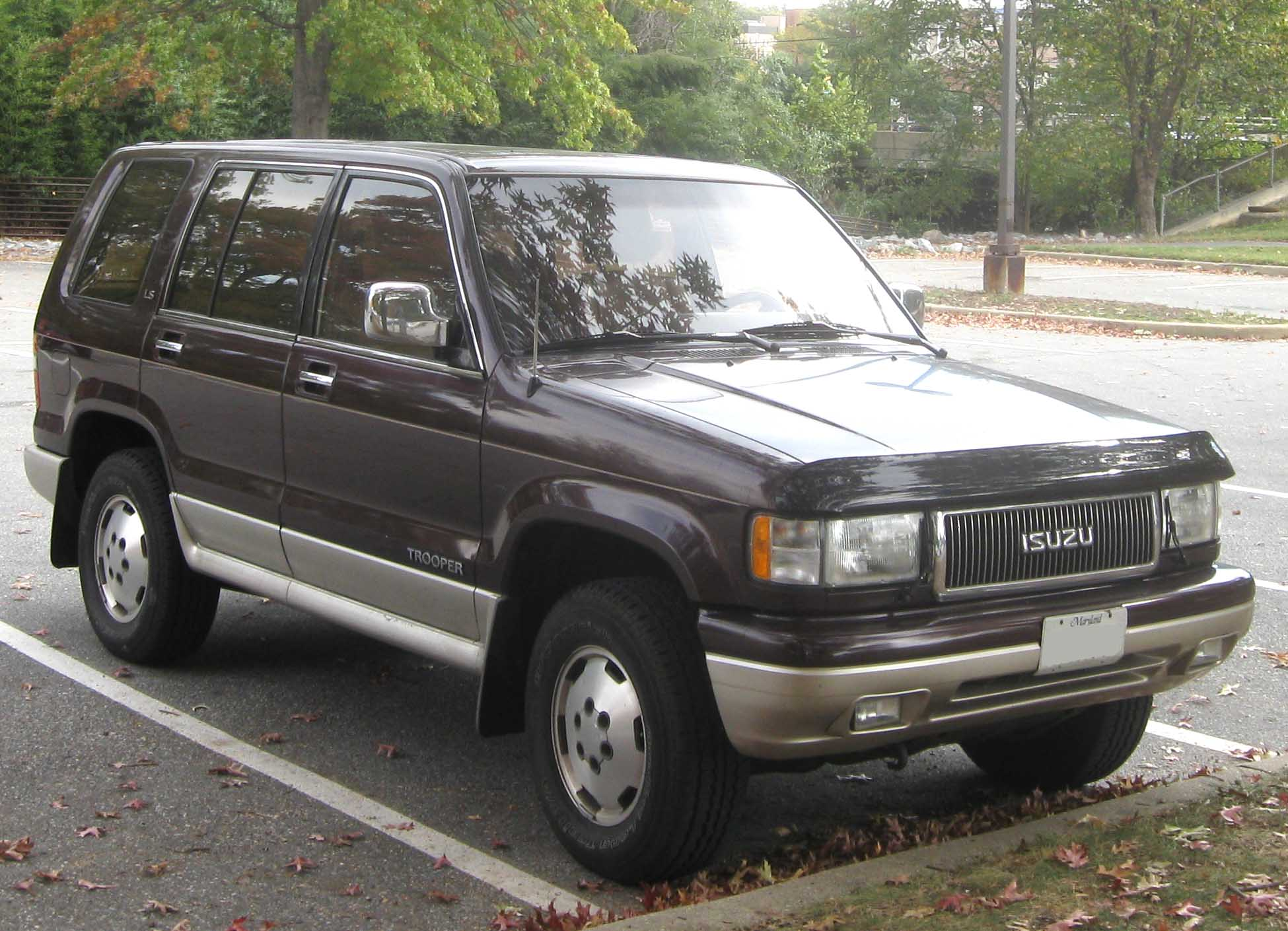 isuzu trooper images #3