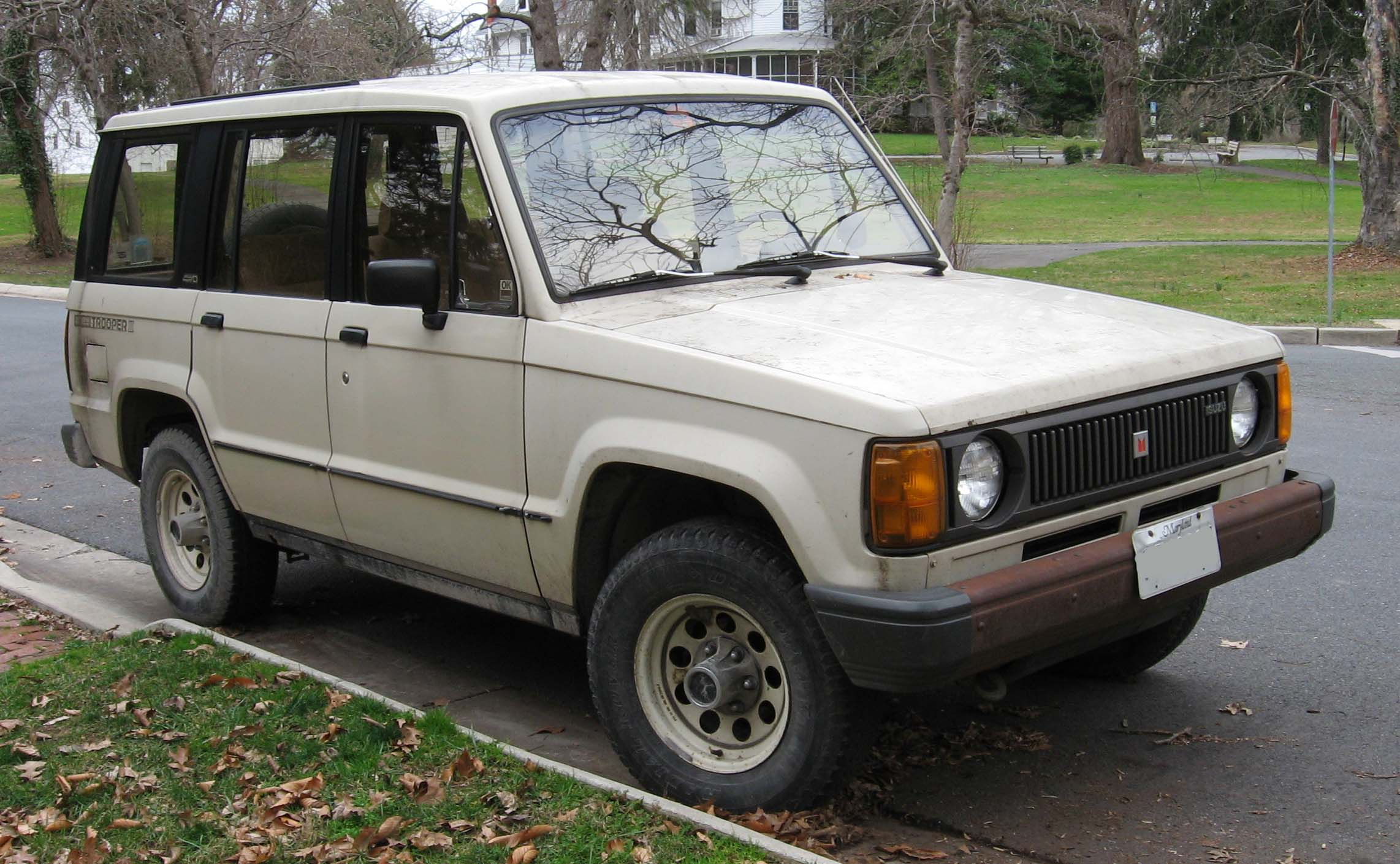 isuzu trooper seriess #10