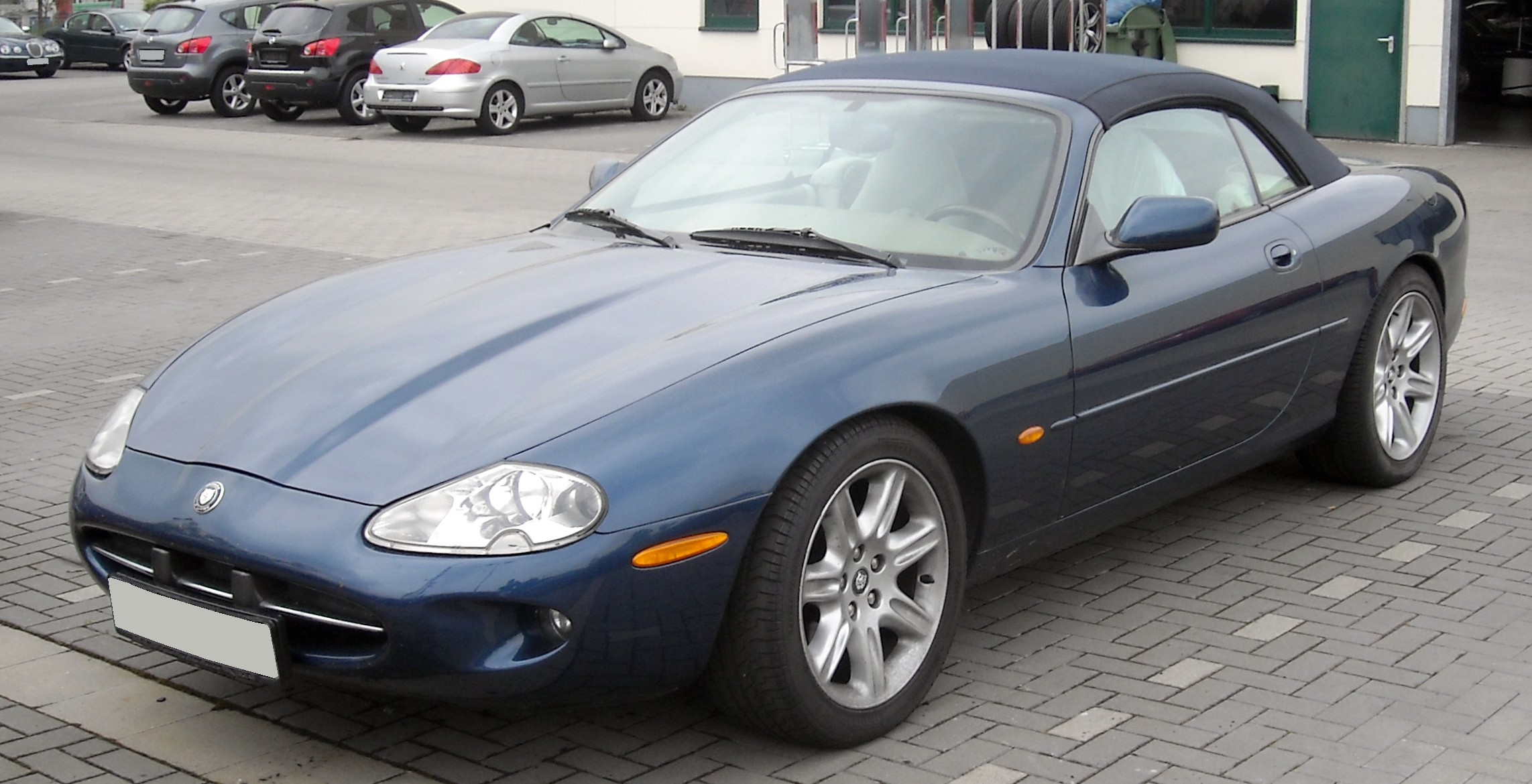 jaguar xk convertible ii 2006 wallpaper