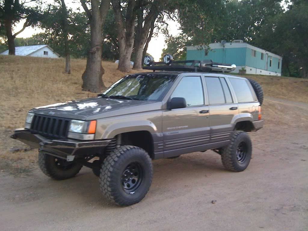 Jeep Grand Cherokee I (z) 1994 Images #5