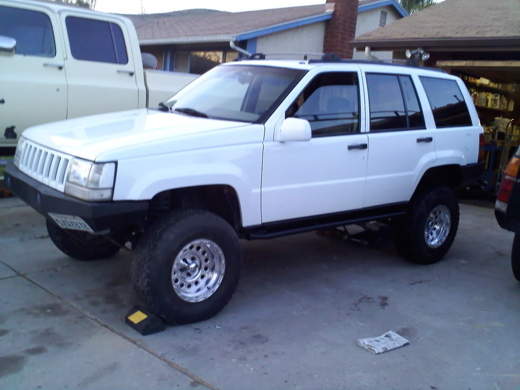 Jeep Grand Cherokee I (z) 1994 Pictures #8