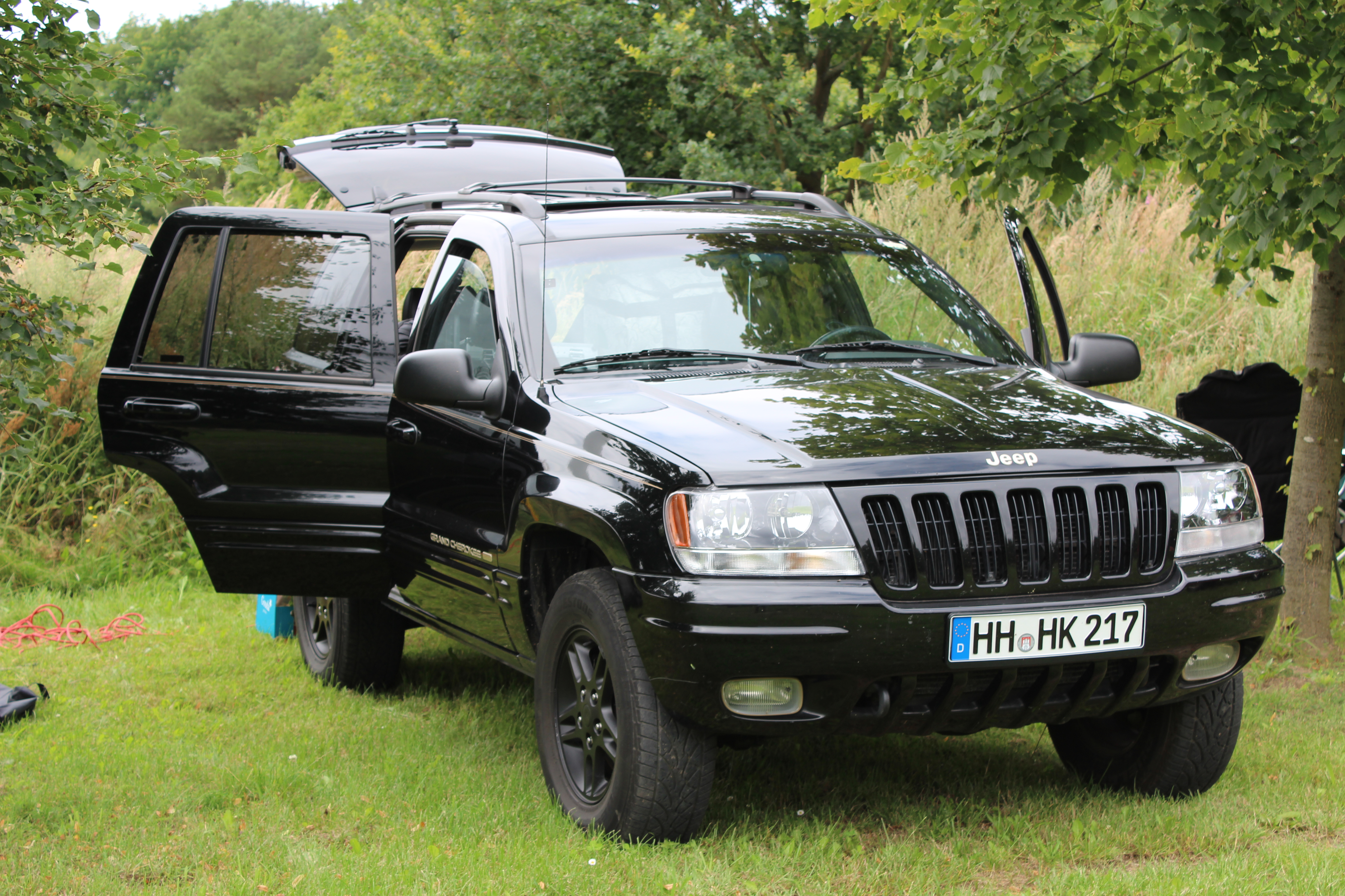 2001 jeep grand cherokee ii (wj) – pictures, information and specs