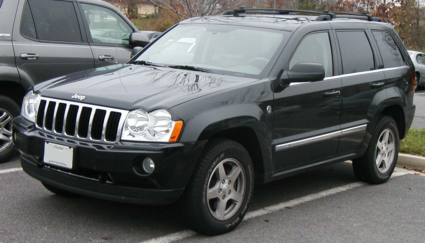 2006 cherokee jeep grand wk models database auto specs