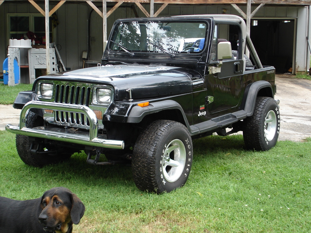 1990 jeep wrangler i pictures information and specs auto. Black Bedroom Furniture Sets. Home Design Ideas