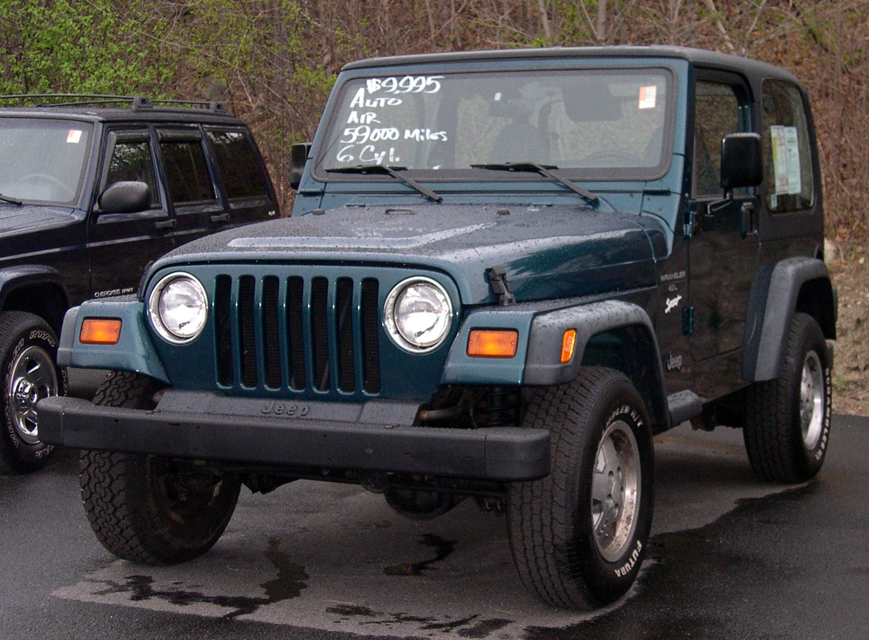 1997 Jeep Wrangler ii (tj) – pictures, information and