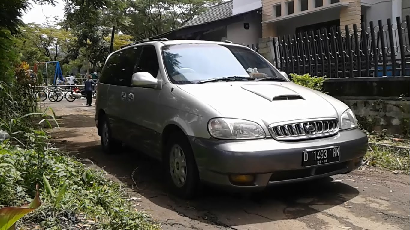 2001 Kia Carnival  Up   U2013 Pictures  Information And Specs