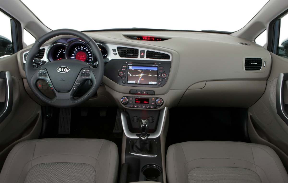 kia ceed sw 2013 interior. Black Bedroom Furniture Sets. Home Design Ideas