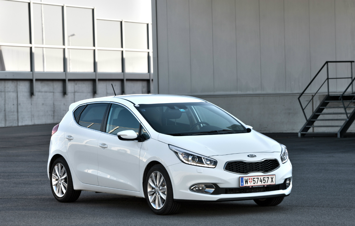 kia ceed pictures