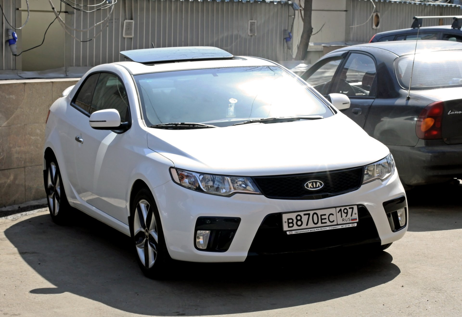 2012 Kia Cerato koup – pictures, information and specs ...