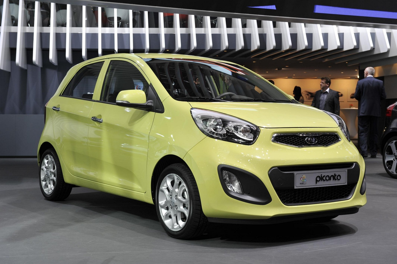kia picanto ii 2012 wallpaper