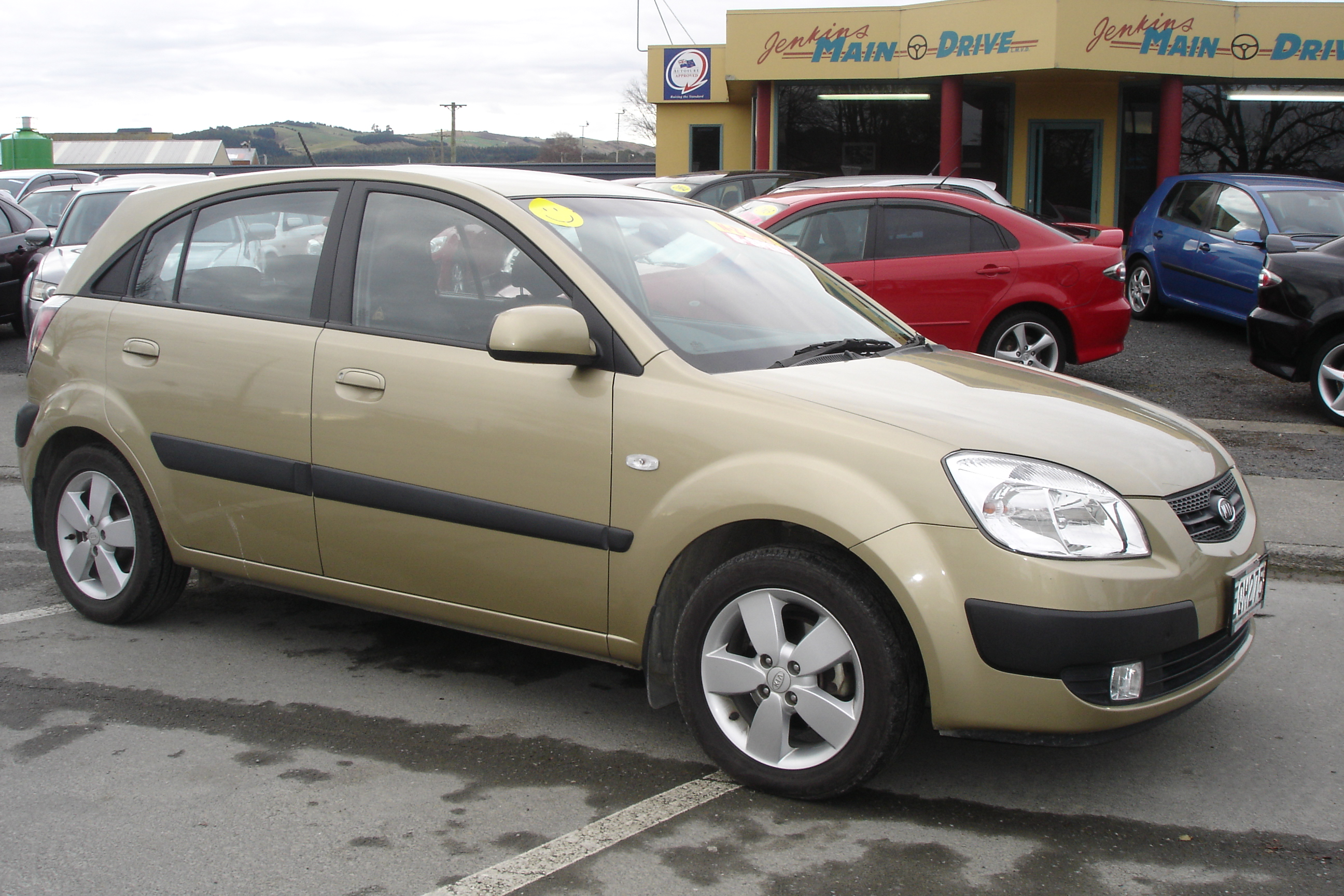 2006 kia rio ii hatchback pictures information and specs auto. Black Bedroom Furniture Sets. Home Design Ideas