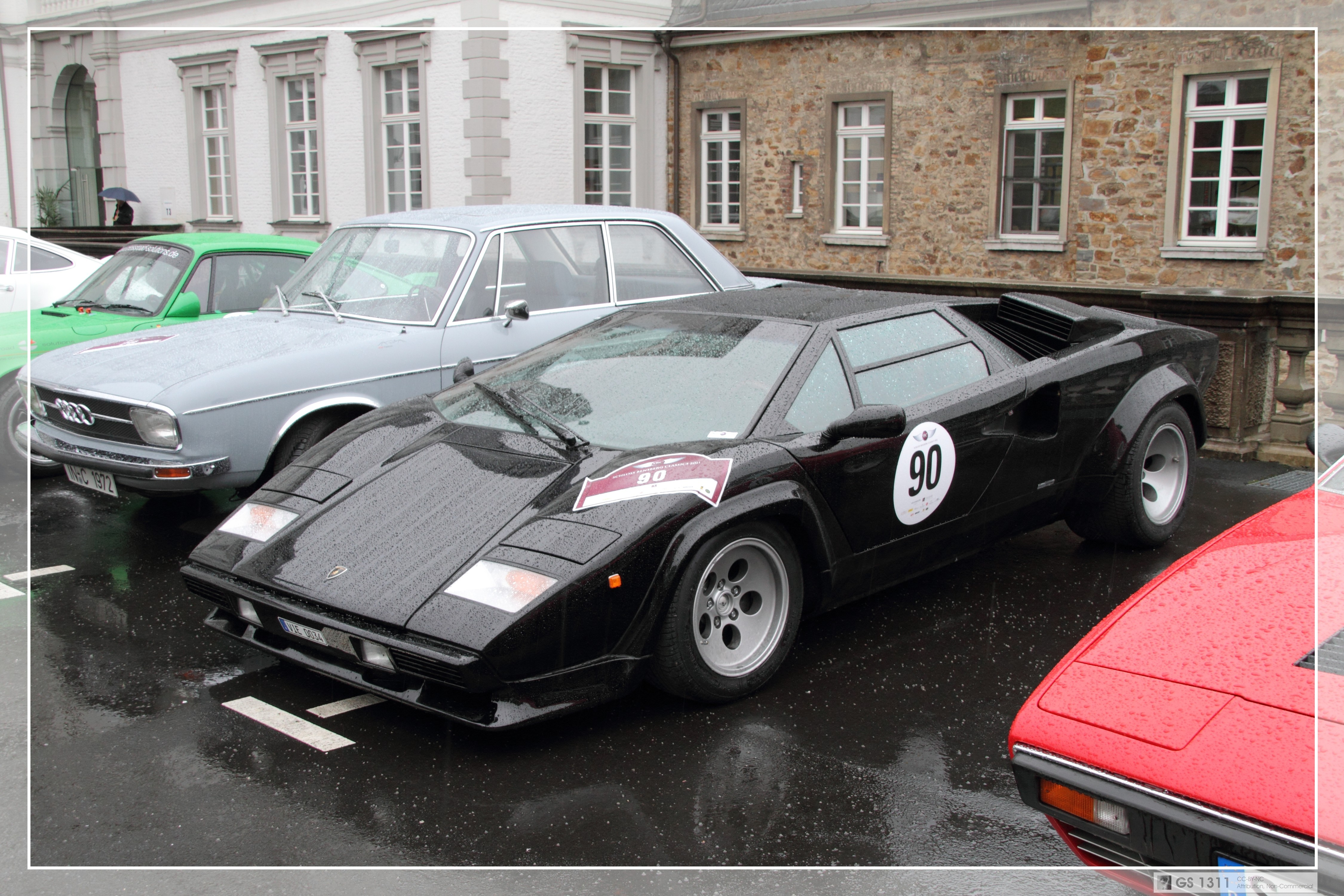 1990 Lamborghini Countach Pictures Information And
