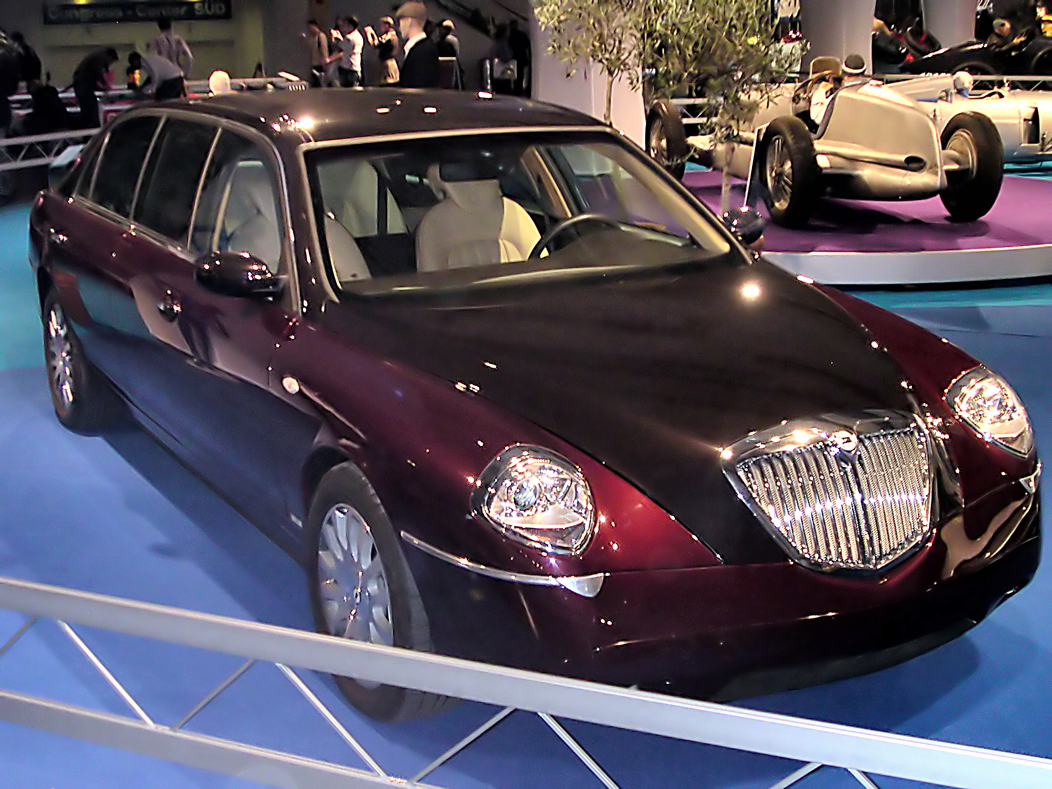 lancia thesis 2001 pictures