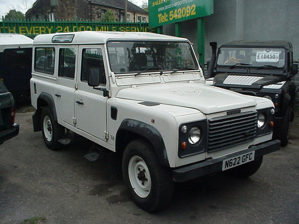 1995 land rover defender 110 pictures information and specs auto. Black Bedroom Furniture Sets. Home Design Ideas