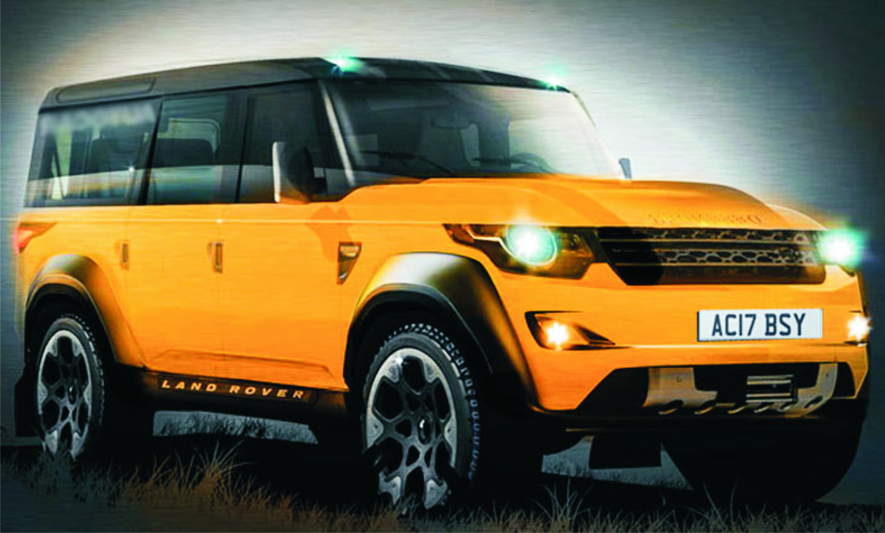110 Wallpapers 2: 2016 Land Rover Defender 110
