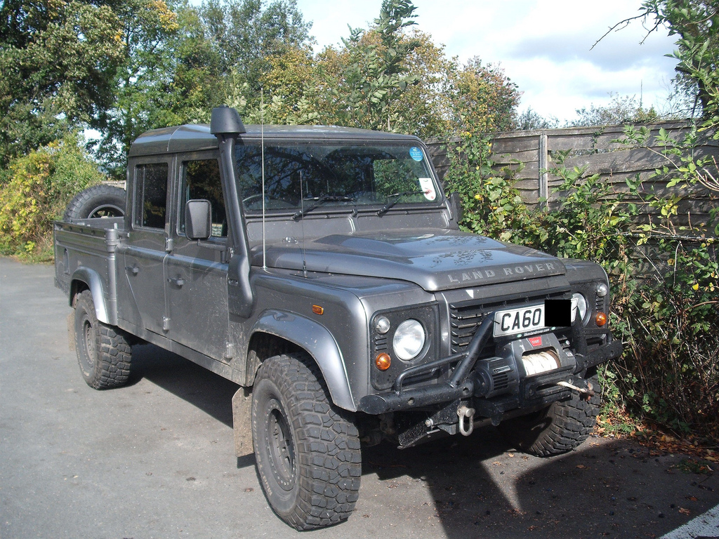 2010 land rover defender 130 pictures information and specs auto. Black Bedroom Furniture Sets. Home Design Ideas
