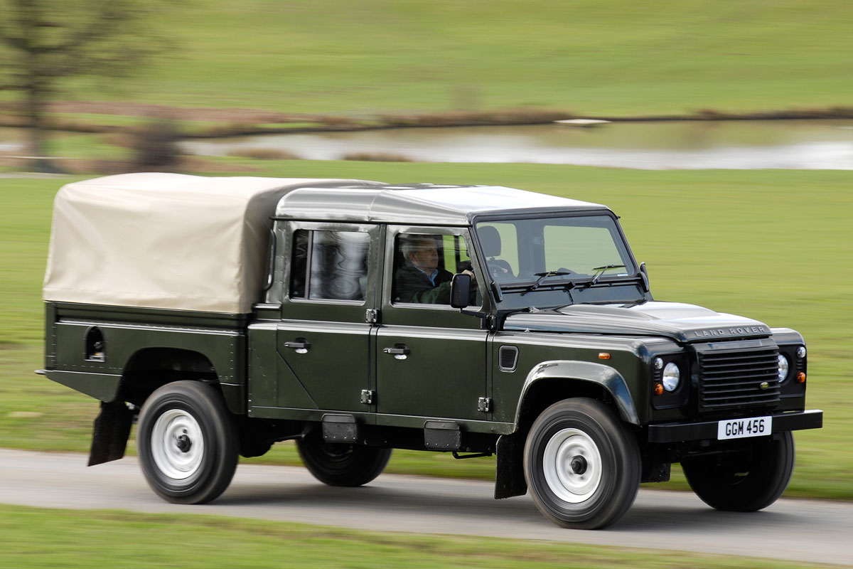 2011 land rover defender 130 pictures information and specs auto. Black Bedroom Furniture Sets. Home Design Ideas