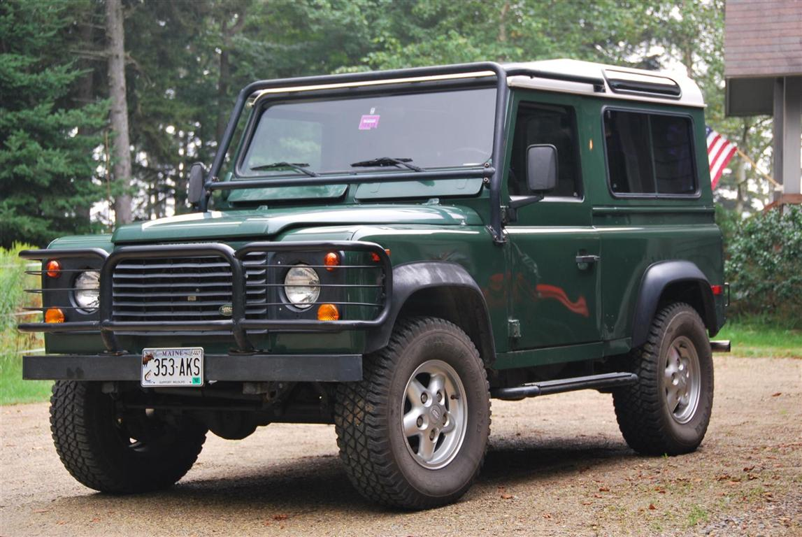 1995 land rover defender 90 pictures information and specs auto. Black Bedroom Furniture Sets. Home Design Ideas