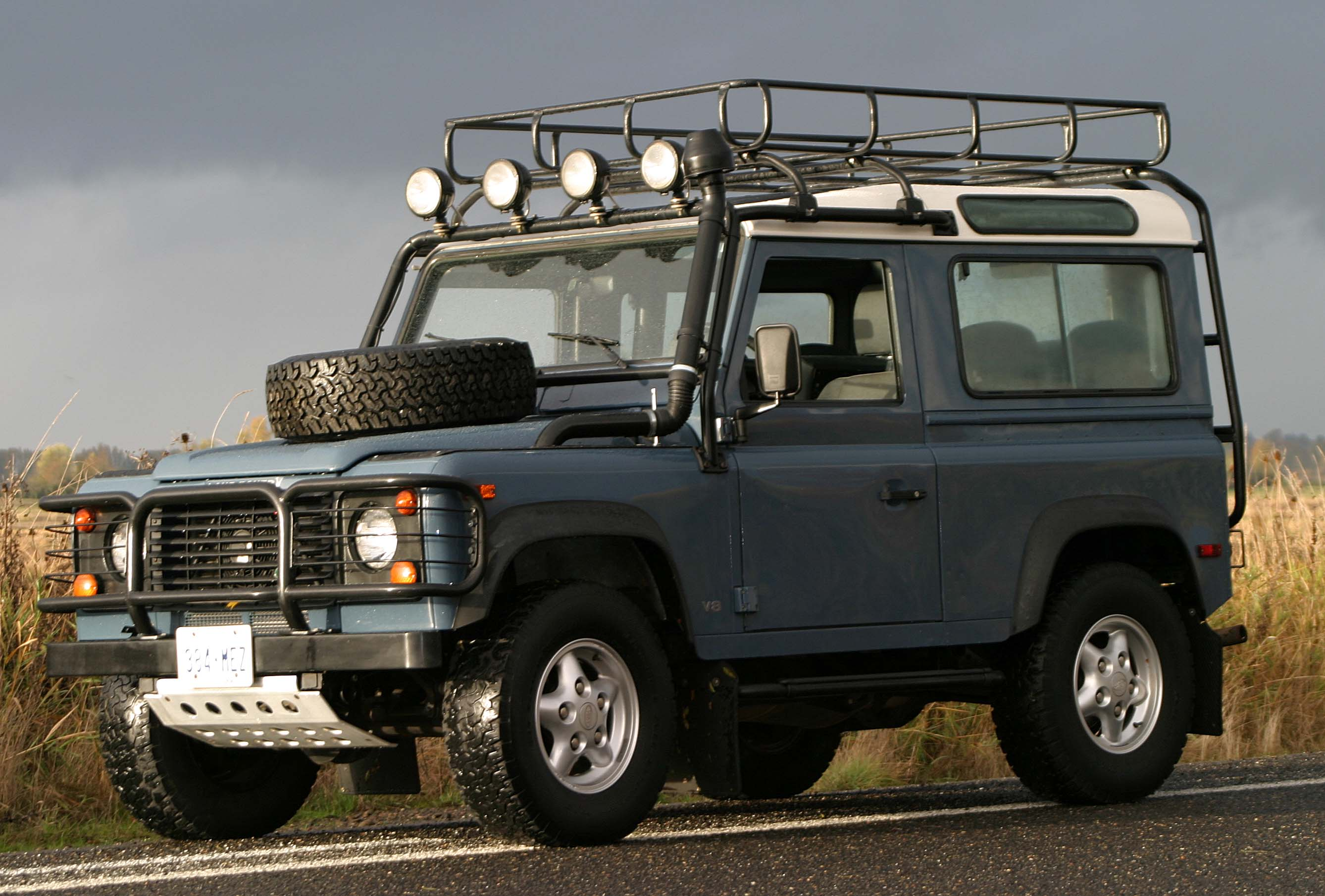 land rover defender seriess #6