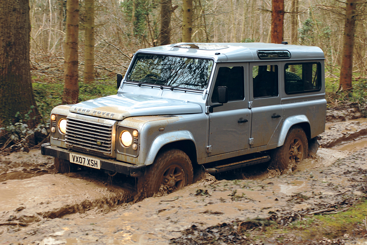 land rover defender seriess #14