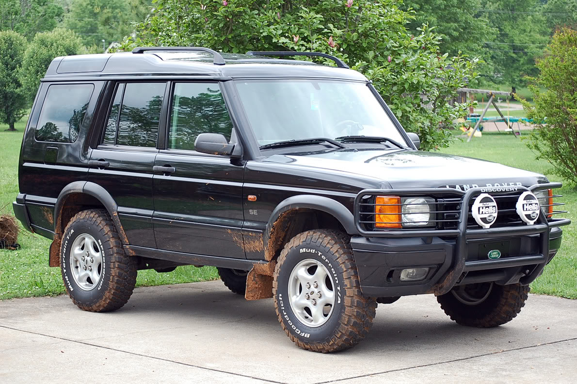 2001 land rover discovery ii pictures information and specs auto. Black Bedroom Furniture Sets. Home Design Ideas