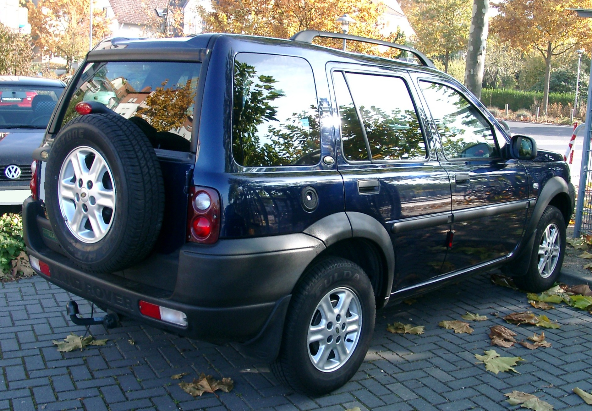 2001 Land Rover Freelander Soft Top Pictures