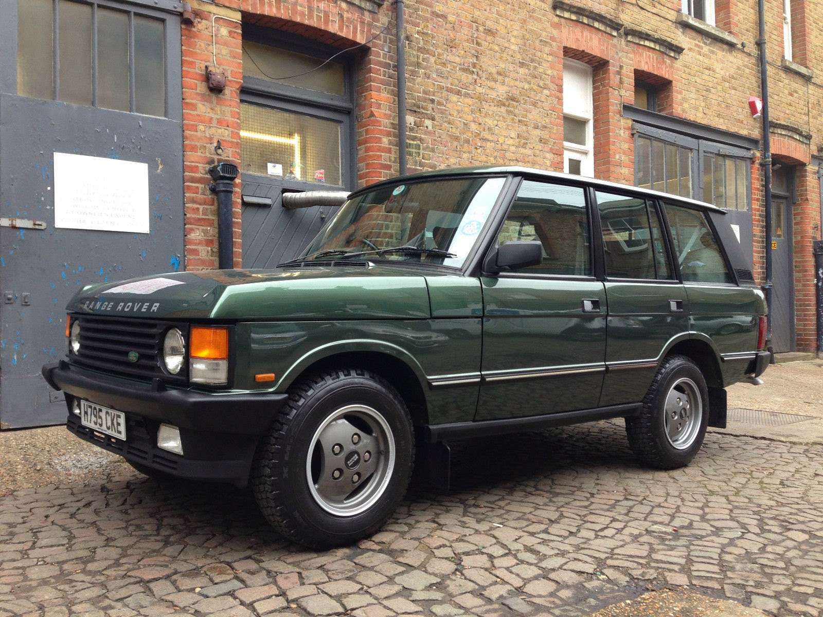 1990 Land Rover Range Rover I Pictures Information And