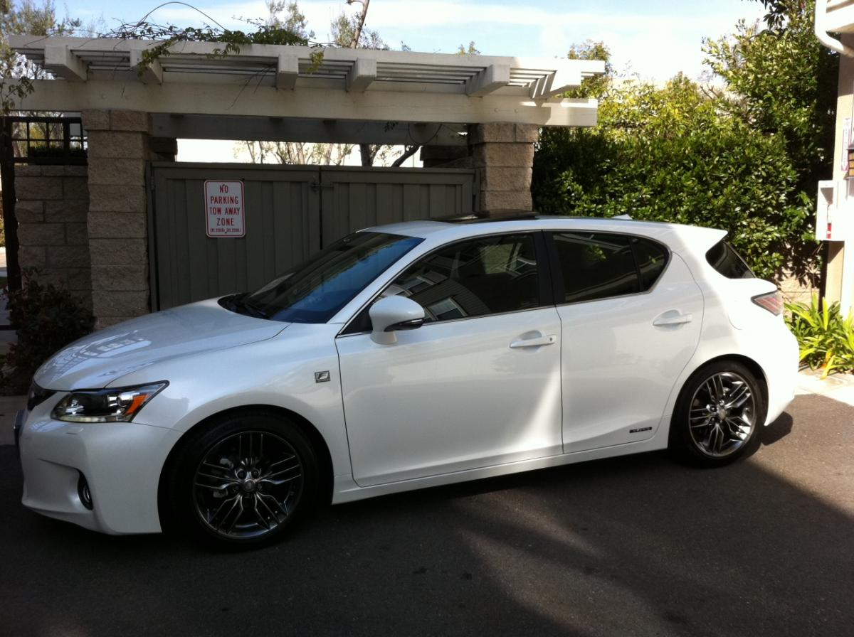 lexus ct 200h 2012 wallpaper