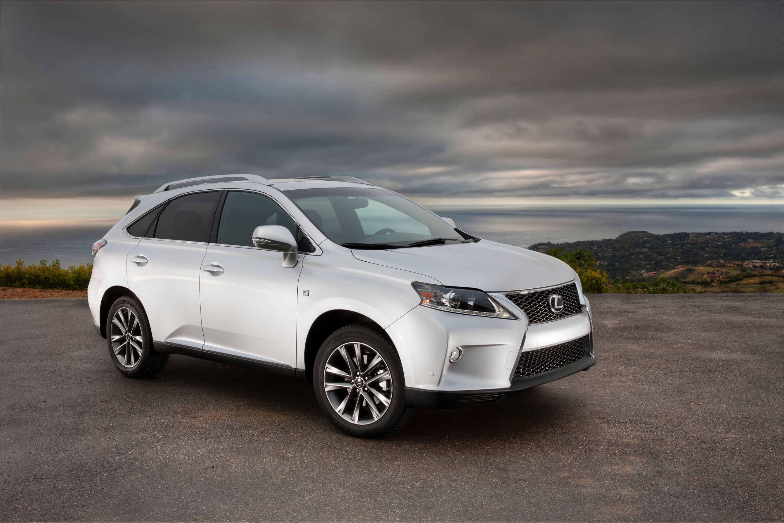 lexus rx iii 2013 wallpaper