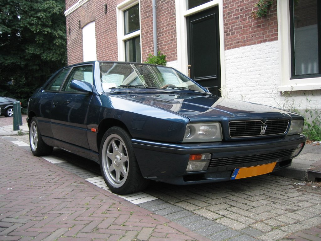 1992 Maserati Ghibli ii - pictures, information and specs ...