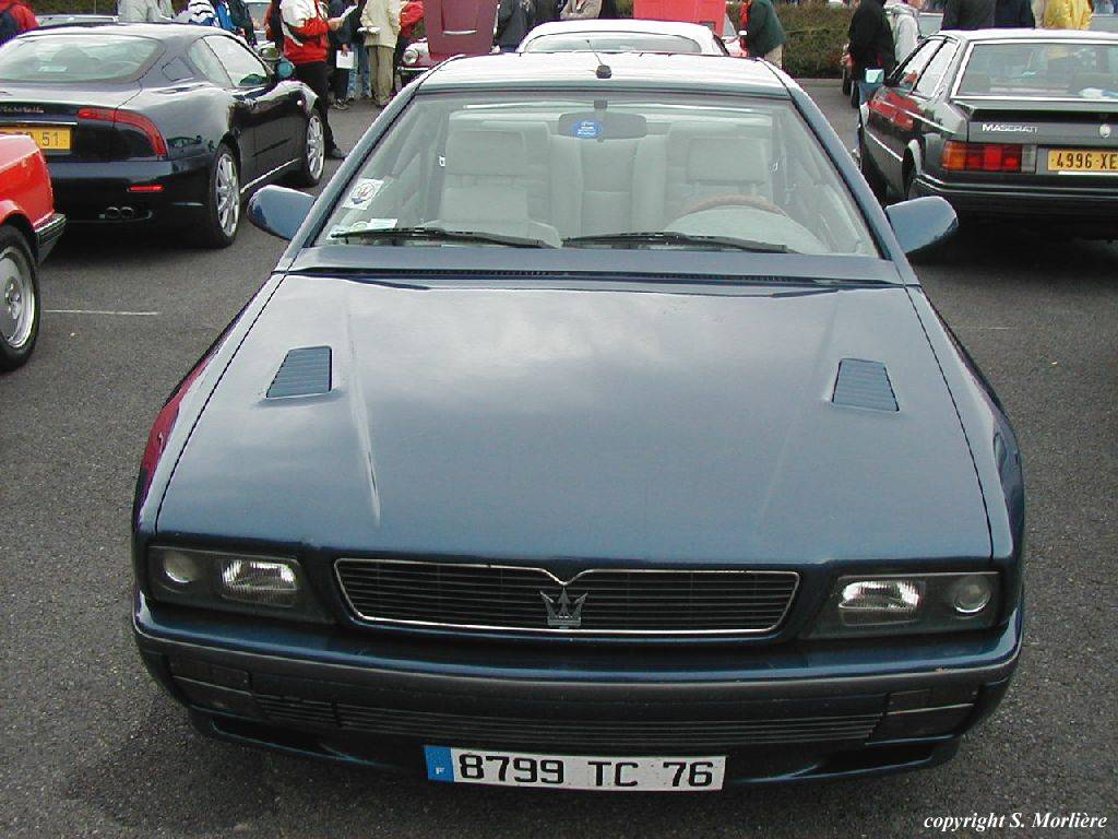 1994 Maserati Ghibli ii - pictures, information and specs ...