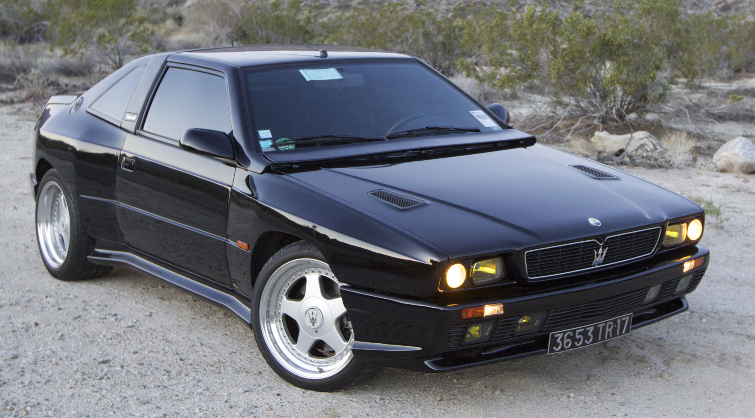 Maserati Shamal Pictures Information And Specs Auto