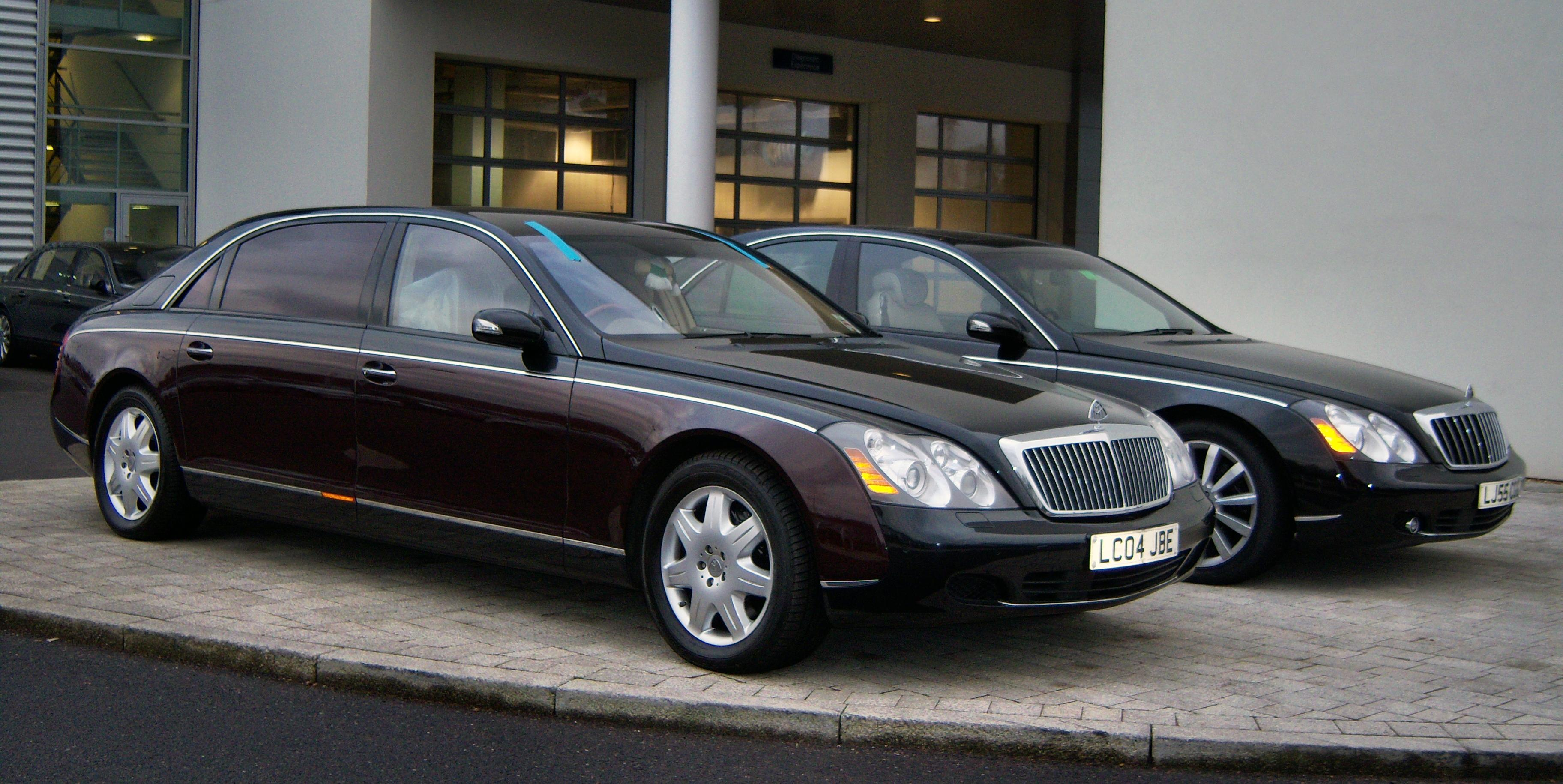 maybach 57 pictures #1