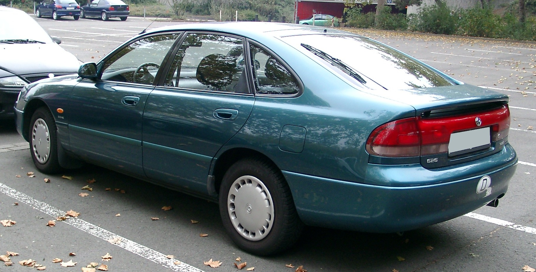 1993 Mazda 626 iv station wagon – pictures, information and specs