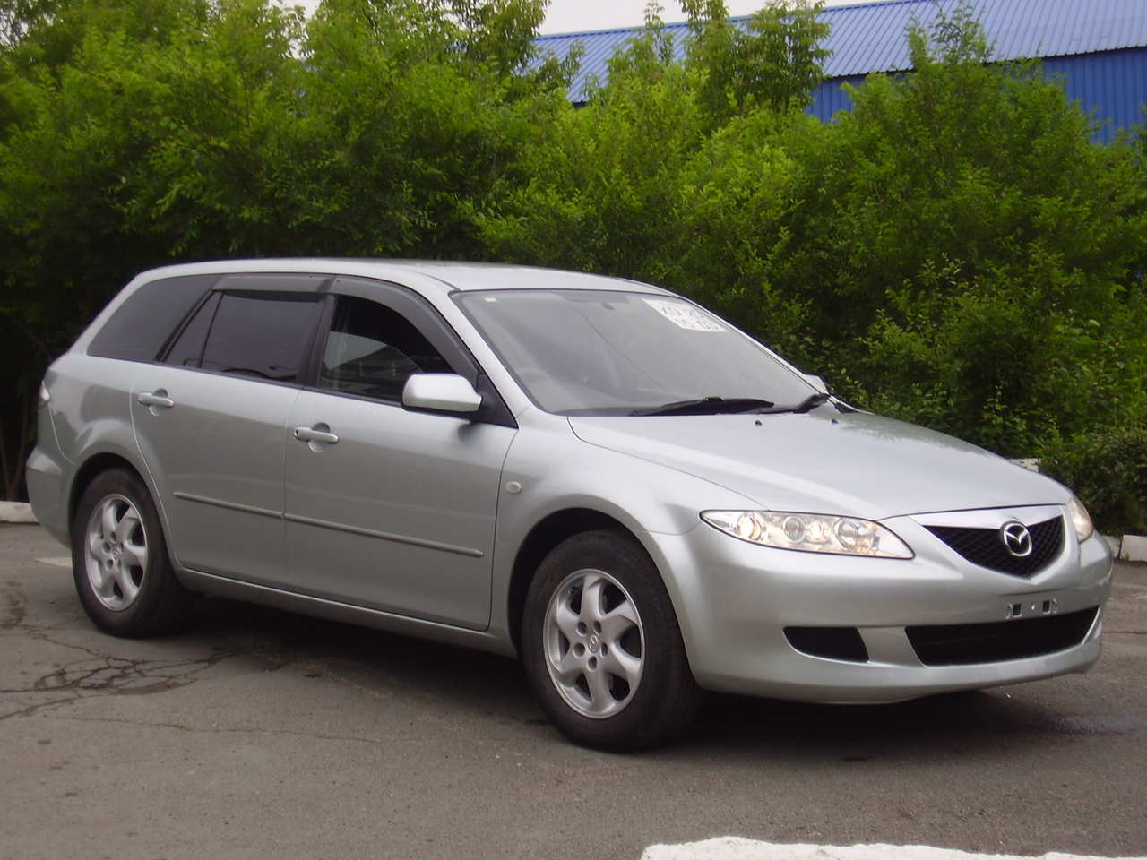 2002 Mazda Mazda 6 sport wagon – pictures, information and specs ...