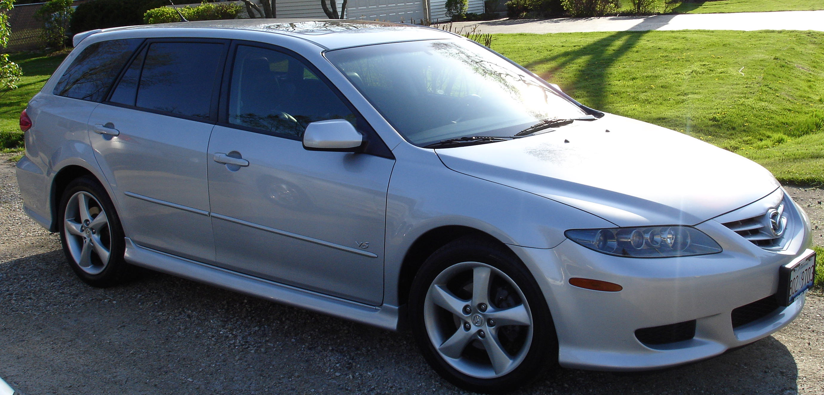 2004 Mazda Mazda 6 sport wagon – pictures, information and specs