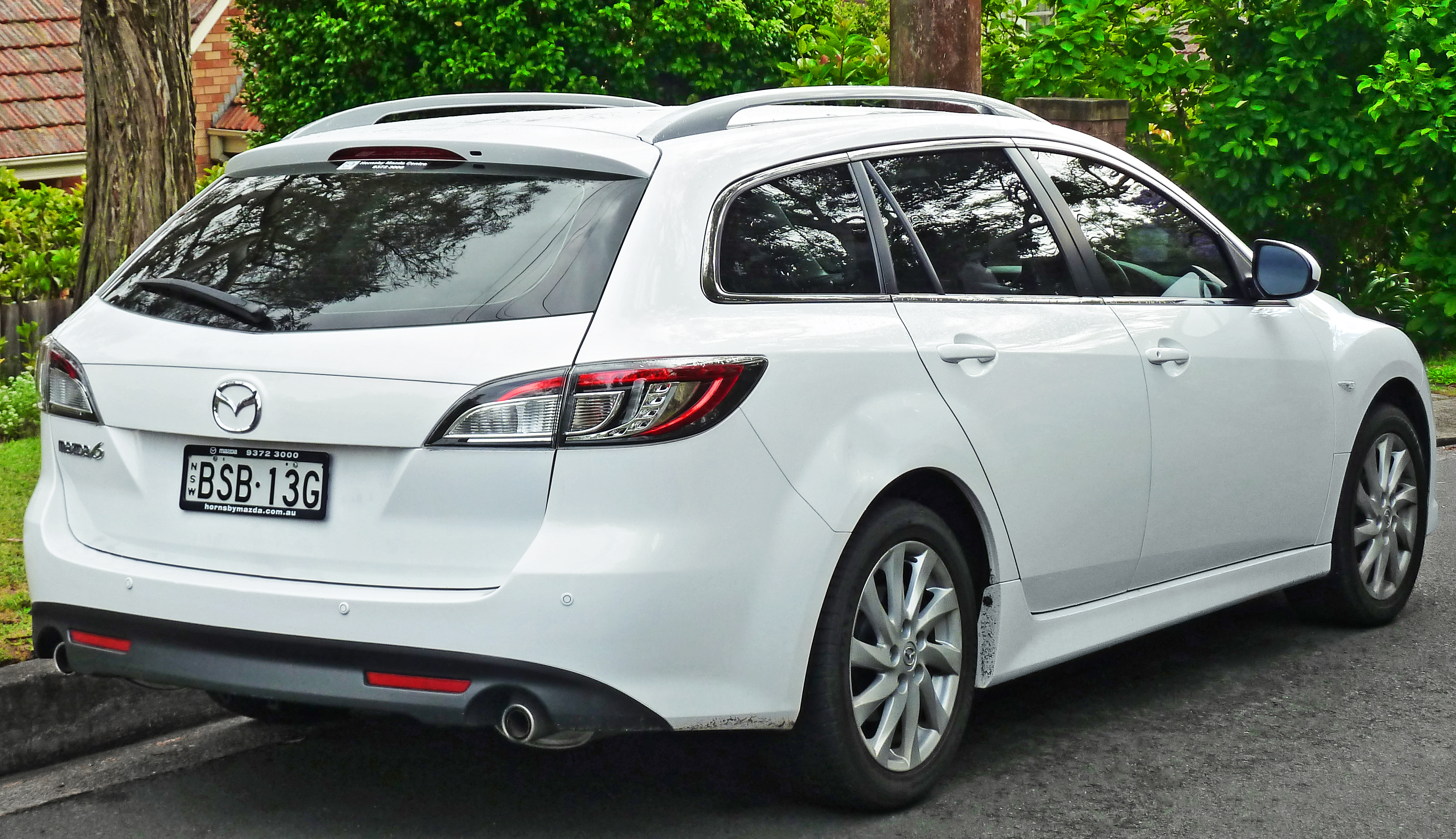 2009 Mazda Mazda 6 Wagon Pictures Information And Specs