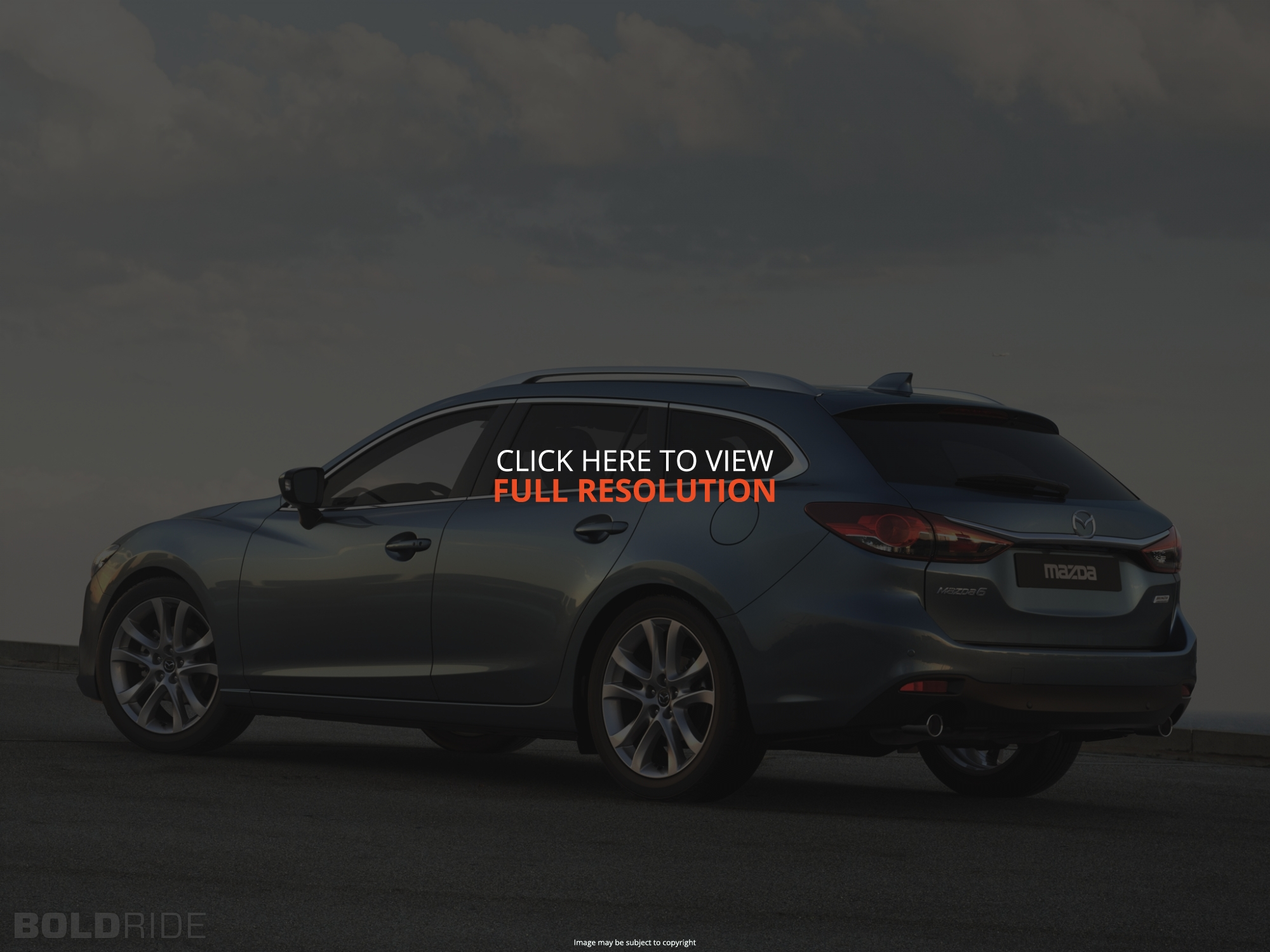 2014 Mazda Mazda 6 wagon – pictures information and specs